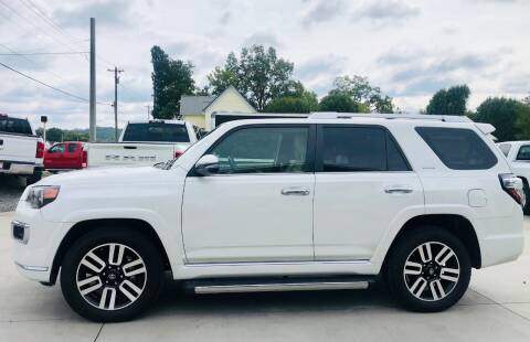 2017 Toyota 4Runner for sale at Crossroads Auto Sales LLC in Rossville GA
