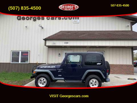 1999 Jeep Wrangler for sale in Waseca, MN