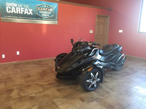 2011 Bombardier Can-Am Spyder Rss