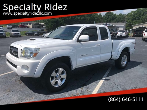 2006 Toyota Tacoma for sale at Specialty Ridez in Pendleton SC