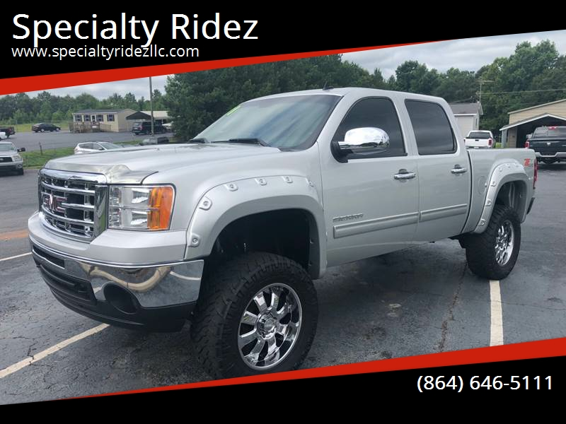 2011 GMC Sierra 1500 for sale at Specialty Ridez in Pendleton SC