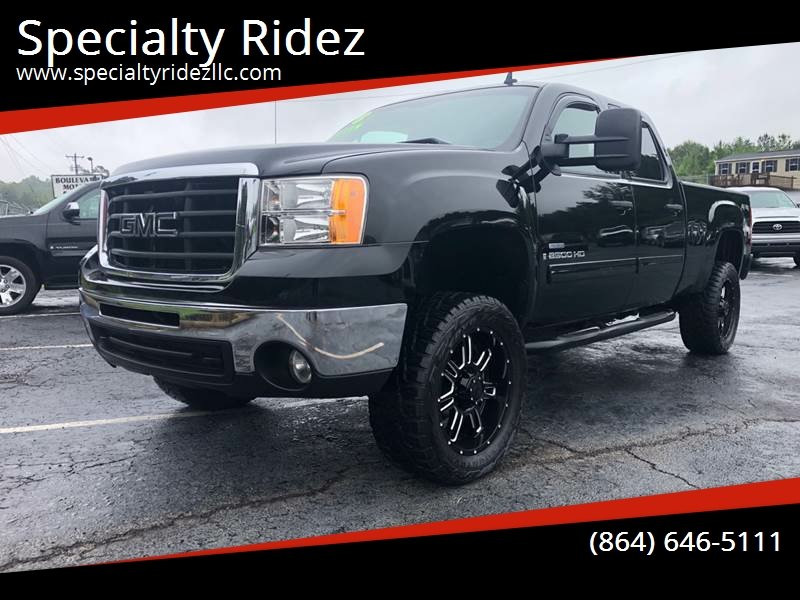 2008 GMC Sierra 2500HD for sale at Specialty Ridez in Pendleton SC