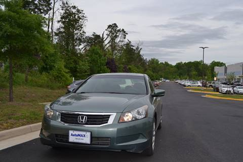 2010 Honda Accord for sale at Automax of Chantilly in Chantilly VA