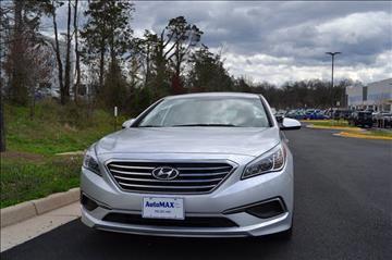 2016 Hyundai Sonata for sale at Automax of Chantilly in Chantilly VA