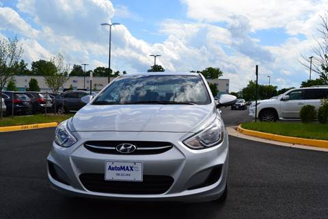 2016 Hyundai Accent for sale at Automax of Chantilly in Chantilly VA
