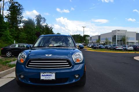 2012 MINI Cooper Countryman for sale at Automax of Chantilly in Chantilly VA