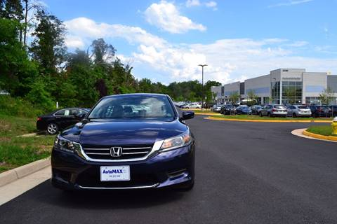 2014 Honda Accord for sale at Automax of Chantilly in Chantilly VA