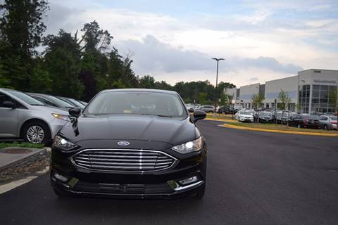 2017 Ford Fusion Hybrid for sale at Automax of Chantilly in Chantilly VA