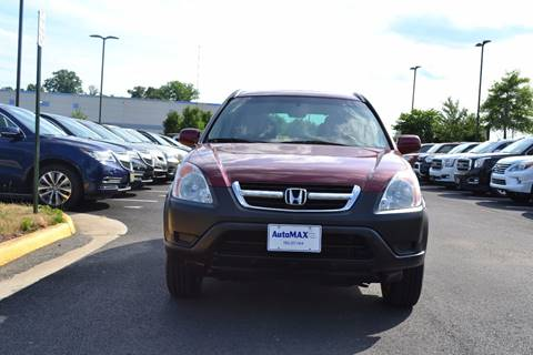 2004 Honda CR-V for sale at Automax of Chantilly in Chantilly VA