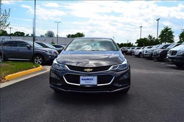 2016 Chevrolet Cruze for sale at Automax of Chantilly in Chantilly VA