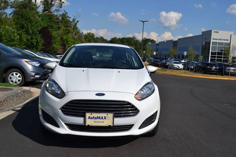 2015 Ford Fiesta for sale at Automax of Chantilly in Chantilly VA