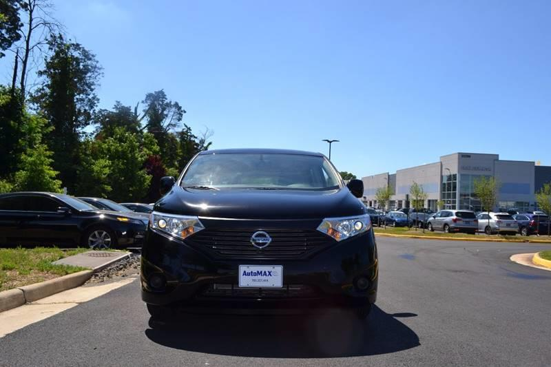 2015 Nissan Quest for sale at Automax of Chantilly in Chantilly VA