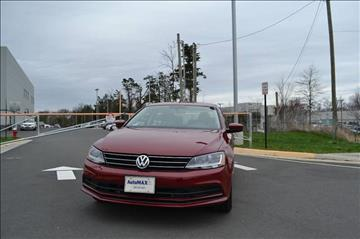 2017 Volkswagen Jetta for sale at Automax of Chantilly in Chantilly VA