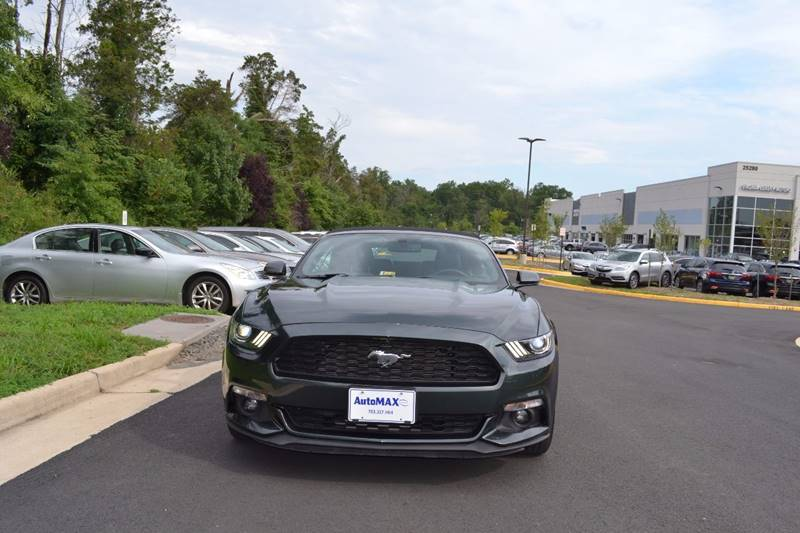 2016 Ford Mustang for sale at Automax of Chantilly in Chantilly VA