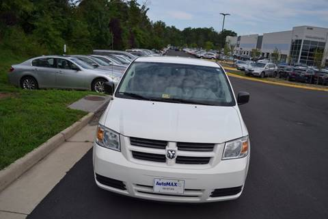 2009 Dodge Grand Caravan for sale at Automax of Chantilly in Chantilly VA