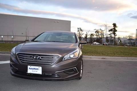 2017 Hyundai Sonata for sale at Automax of Chantilly in Chantilly VA