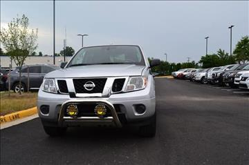 2016 Nissan Frontier for sale at Automax of Chantilly in Chantilly VA