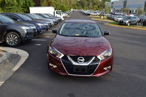 2017 Nissan Maxima for sale at Automax of Chantilly in Chantilly VA