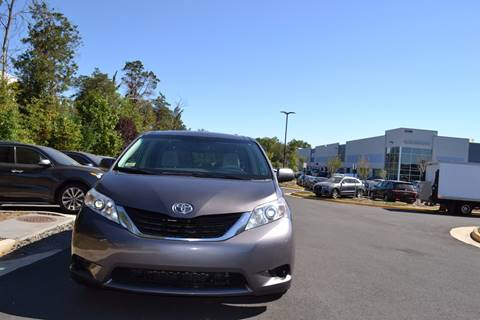 2012 Toyota Sienna for sale in Chantilly, VA