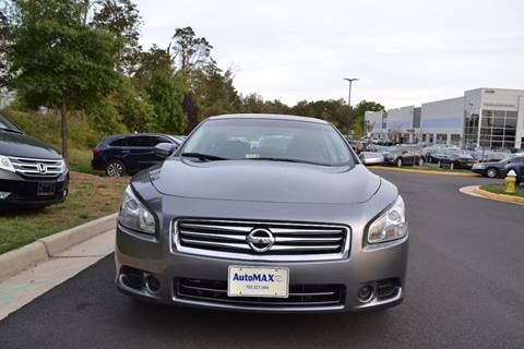 2014 Nissan Maxima for sale at Automax of Chantilly in Chantilly VA