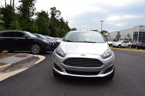 2016 Ford Fiesta for sale at Automax of Chantilly in Chantilly VA