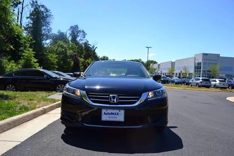 2013 Honda Accord for sale at Automax of Chantilly in Chantilly VA