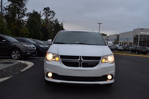 2017 Dodge Grand Caravan for sale at Automax of Chantilly in Chantilly VA