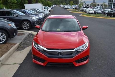 2016 Honda Civic for sale at Automax of Chantilly in Chantilly VA