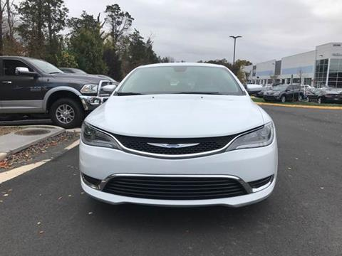 2016 Chrysler 200 for sale at Automax of Chantilly in Chantilly VA