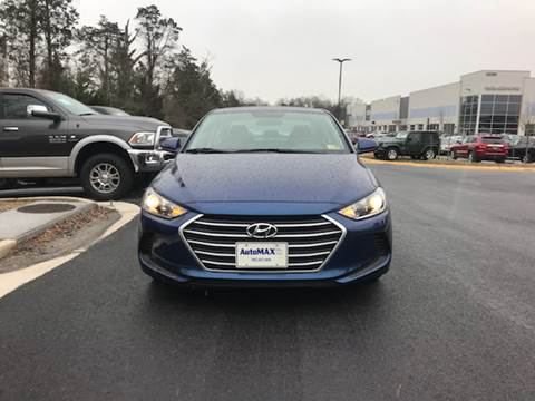 2018 Hyundai Elantra for sale at Automax of Chantilly in Chantilly VA