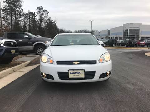 2011 Chevrolet Impala for sale at Automax of Chantilly in Chantilly VA