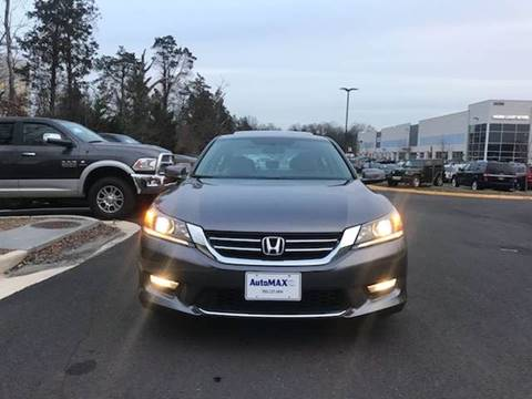 2015 Honda Accord for sale at Automax of Chantilly in Chantilly VA