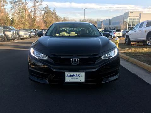 2017 Honda Civic for sale at Automax of Chantilly in Chantilly VA