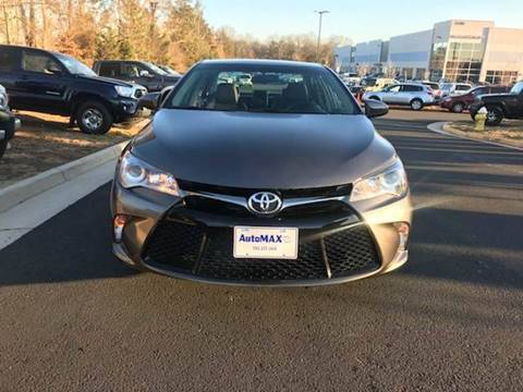 2017 Toyota Camry for sale at Automax of Chantilly in Chantilly VA