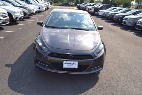 2016 Dodge Dart for sale at Automax of Chantilly in Chantilly VA