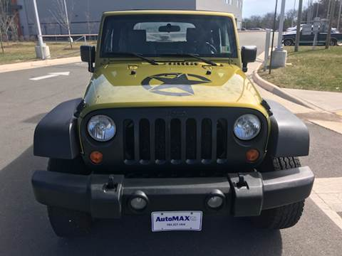 2007 Jeep Wrangler for sale at Automax of Chantilly in Chantilly VA