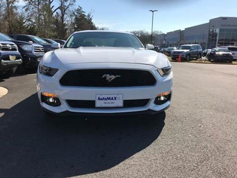 2017 Ford Mustang for sale at Automax of Chantilly in Chantilly VA