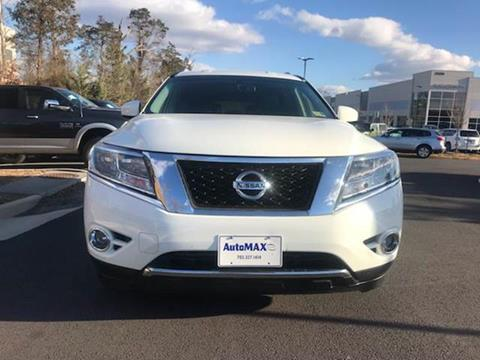 2016 Nissan Pathfinder for sale at Automax of Chantilly in Chantilly VA