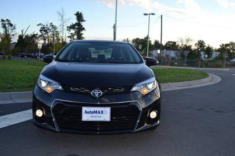 2016 Toyota Corolla for sale at Automax of Chantilly in Chantilly VA