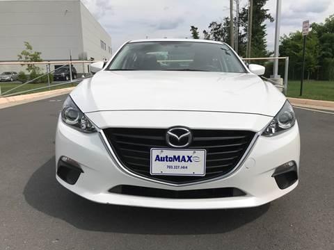 2016 Mazda MAZDA3 for sale at Automax of Chantilly in Chantilly VA