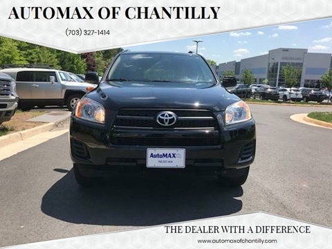 2010 Toyota RAV4 for sale at Automax of Chantilly in Chantilly VA