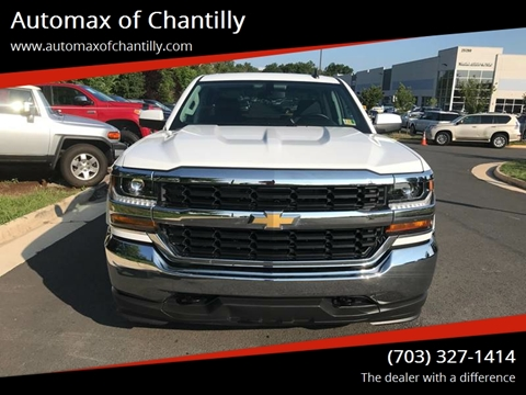 2018 Chevrolet Silverado 1500 for sale at Automax of Chantilly in Chantilly VA