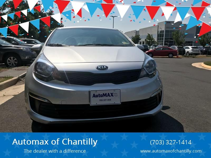 2017 Kia Rio for sale at Automax of Chantilly in Chantilly VA