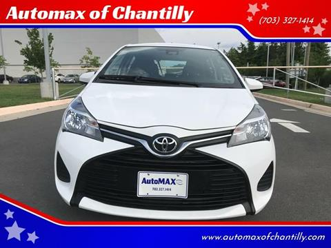 2017 Toyota Yaris for sale at Automax of Chantilly in Chantilly VA