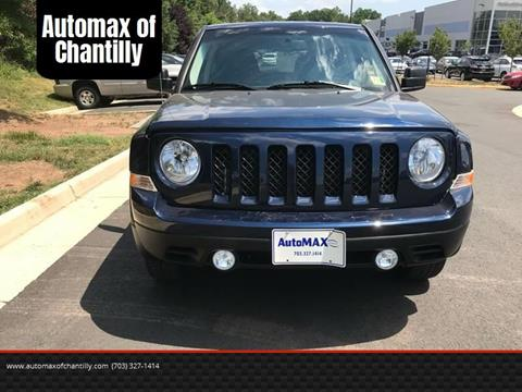 2016 Jeep Patriot for sale at Automax of Chantilly in Chantilly VA