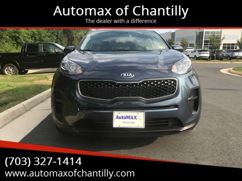 2018 Kia Sportage for sale at Automax of Chantilly in Chantilly VA