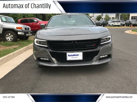 2018 Dodge Charger for sale at Automax of Chantilly in Chantilly VA