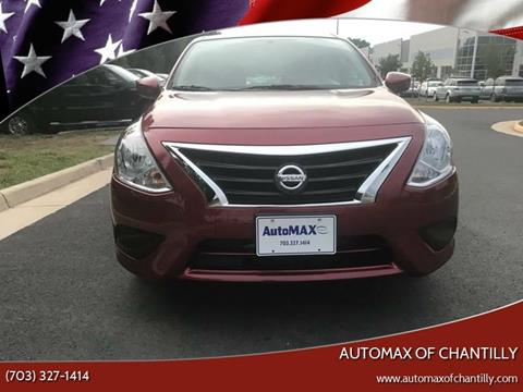 2018 Nissan Versa for sale at Automax of Chantilly in Chantilly VA