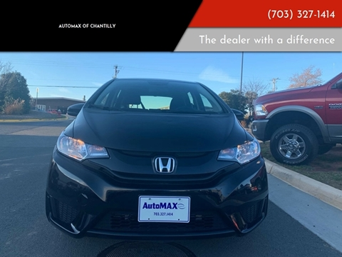 2016 Honda Fit for sale at Automax of Chantilly in Chantilly VA