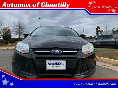 2013 Ford Focus for sale at Automax of Chantilly in Chantilly VA